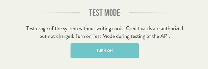 TestMode-Handwrytten